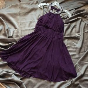 Dresses & Skirts - Plum Knee Length Dress Size 8